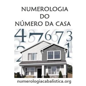 NUMEROLOGIA DO NÚMERO DA CASA